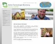 Website Harbs-Technologie Blomberg Service -