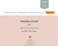 Website Senzera - Waxing, Sugaring & Kosmetikstudio in Berlin-Charlottenburg