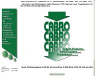 Bild Webseite CABRO R. Broermann Adelsheim