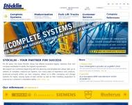 Bild Webseite Stöcklin Logistik Netphen