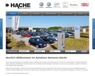 Bild Webseite Hache Hermann Blomberg