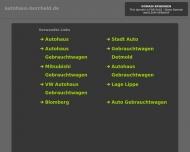 Bild Webseite Borcheld Blomberg