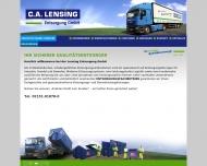 Bild C.A.Lensing Entsorgung GmbH Containerdienst