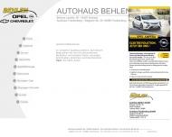 Website Autohaus Frankenberg