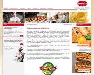 Bild Webseite Vortella Lebensmittelwerk W. Vortmeyer Köln