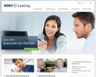 Bild Webseite MMV Leasing Stuttgart
