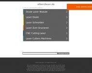 Bild Webseite Albers Laser Konstanz