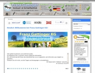 Website Franz Gattinger