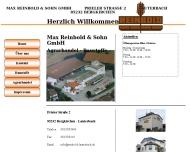 Bild Reinbold Max & Sohn Baustoffe & Agrarhandel GmbH
