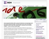 Bild Webseite BGH Edelstahl Freital Freital