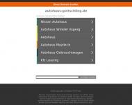 Bild Webseite Autohaus Uwe Gottschling Goslar