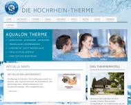 Bild Webseite Aqualon Therme Bad Säckingen Bad Säckingen