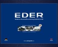 Bild Eder-Siebdruck Kunststoffverarbeitung GmbH & Co. KG