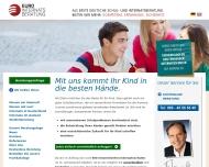 Bild Webseite Euro-Internatsberatung München