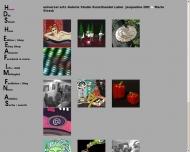 Bild Webseite Universal Arts Galerie Studio München