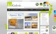 Bild Webseite ARTland Aachen