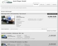 Bild Webseite Auto Traeger Wuppertal