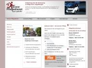Bild Webseite Bremer Pflegedienst Bremen
