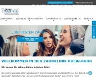 Bild ZAHNKLINIK Rhein-Ruhr Spezialklinik für zahnärztliche Implantologie