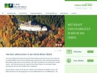 Bild Klinik Brilon-Wald Gesellschaft mit beschränkter Haftung & Co. KG