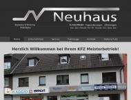 Bild Webseite Auto-Neuhaus Inh. Wolfgang Neuhaus Dortmund