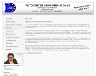 Website Autocenter Lahr