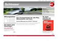 Bild Webseite Autohaus Paul Schlosser Gesellschaft Dortmund