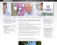 Bild Webseite Dresdner Kurzzeitpflege Dresden