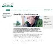 Website Pflegedienst am Waldsee