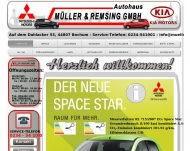 Website Autohaus Müller & Remsing