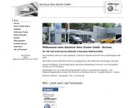 Bild Webseite Hans Steiner Bochum