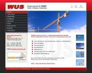 Bild WUS Vertrieb von Baukrantechnik GmbH