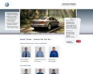Website Volkswagen Autohaus Paaßen