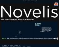 Bild Webseite Novelis Deutschland Plettenberg