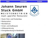 Bild Webseite Seuren Johann Stuck Köln