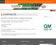 Bild Webseite Brandner HandelsgmbH Reutlingen