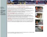 Bild Webseite Friedrich Baumeister Straßen- und Tiefbau Inh. Ralph Schneider Netphen
