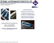 Bild Webseite SZ Regel- und Klimatechnik München
