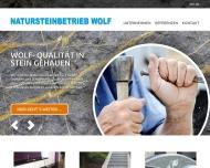 Bild Steinmetzbetrieb Natursteinbetrieb Wolf
