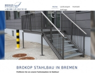 Bild Brokop Stahlbau Stahlbau