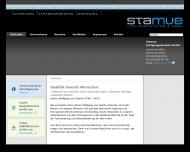 Website Stamue Fertigungstechnik