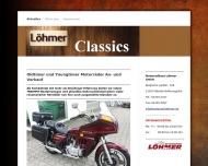 Bild Webseite Löhmer Alexander Autohaus Rösrath