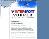 Bild Sport Vohrer Inhaber Jörg Knecht e.K.