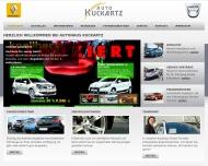 Website Autohaus Kuckartz