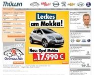 Website Thüllen Opel Chevrolet Saab Hyundai Autohaus