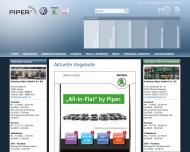 Bild Webseite Autohaus Piper Aachen
