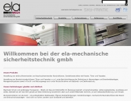 Bild ela mechanische Sicherheitstechnik GmbH