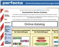 Bild perfecta Sicherheitskennzeichnungen GmbH