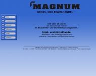 Bild Webseite MAGNUM Sicherheitsfachgeschäft Nürnberg