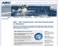 Bild Webseite A B C Wassersport München